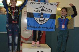 Patín carrera: Zecca y Calderón, campeones del Apertura