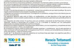 Horacio Tettamanti excluido de la boleta de Alberto Fernandez y Kicillof