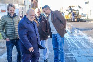 Arroyo: «El Municipio está trabajando en los barrios como nunca antes»