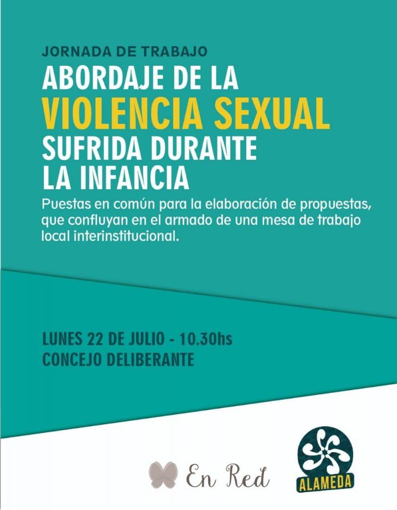 Jornada sobre abuso sexual en el Concejo Deliberante