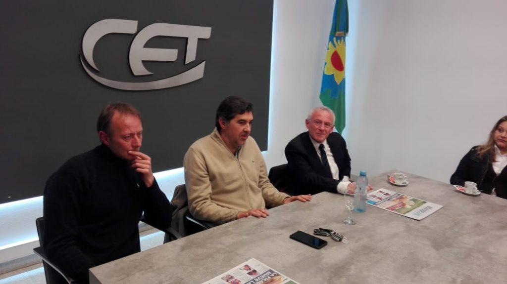 Ricardo Huarte se reunió con autoridades de la Cámara Empresaria