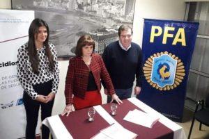 Patricia Bullrich pasó por Mar del Plata en apoyo a la candidatura de Montenegro