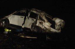 Dolores: Volcó una camioneta en la que viajaba El Pepo: murieron dos acompañantes