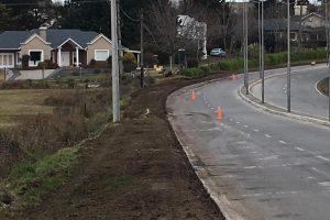 Tandil: El Municipio continua generando sendas aeróbicas en zonas de ciudad