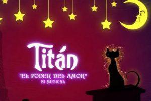 """Primera presentación de """"Titán, el poder del amor"""" en Sala Melany"""