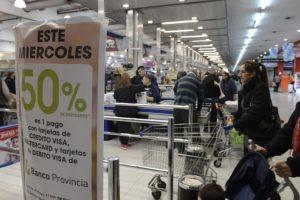 Miércoles de descuentos en supermercados para clientes del Banco Provincia