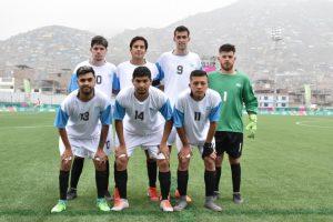Con Matías Vera como titular, Argentina venció a Perú