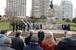 El intendente Arroyo encabezó el Acto Central por el 169º aniversario del fallecimiento del General Don José de San Martín
