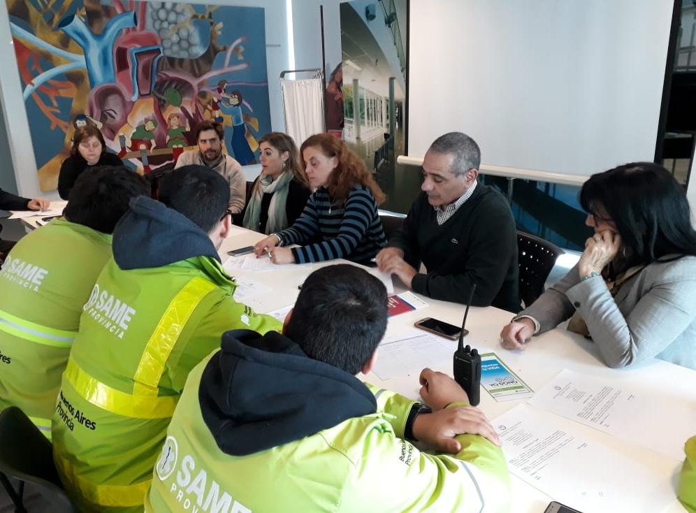 El Municipio se reunió con representantes del CUCAIBA