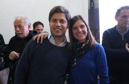 Encuentro con candidatos e intendenes: Kicillof y Raverta juntos
