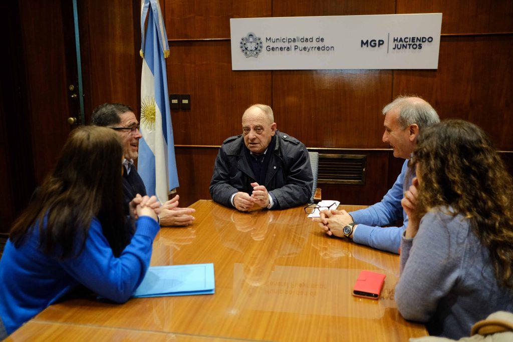 Arroyo se reunió con autoridades de la OSECAC