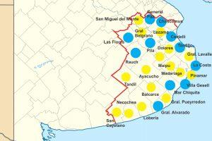 Quinta Sección Electoral: Juntos por el Cambio ganó en 16 ciudades, el Frente de Todos en 11