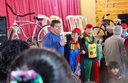 Montenegro participó por festejos del día del niño