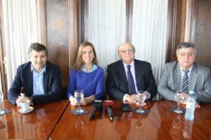 De Mendiguren, Ciano y Raverta reunidos con industriales y empresarios