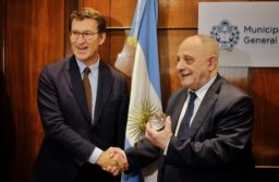 Arroyo recibió al Presidente dela Xuntade Galicia
