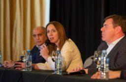 Vidal relativizó la ausencia de Vilma y Salvador afirmó que está consustanciada con el proyecto