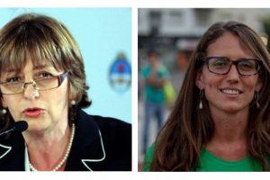 Alejandra Gils Carbó y Elizabeth Gómez Alcorta