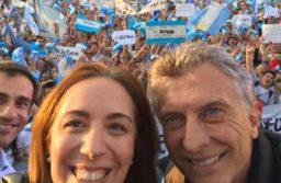 Macri y Vidal encabezan una nueva marcha del «Sí, se puede» en Olavarría