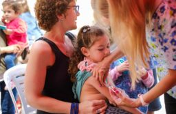 Califican como «muy positiva» la jornada de vacunación contra el sarampión