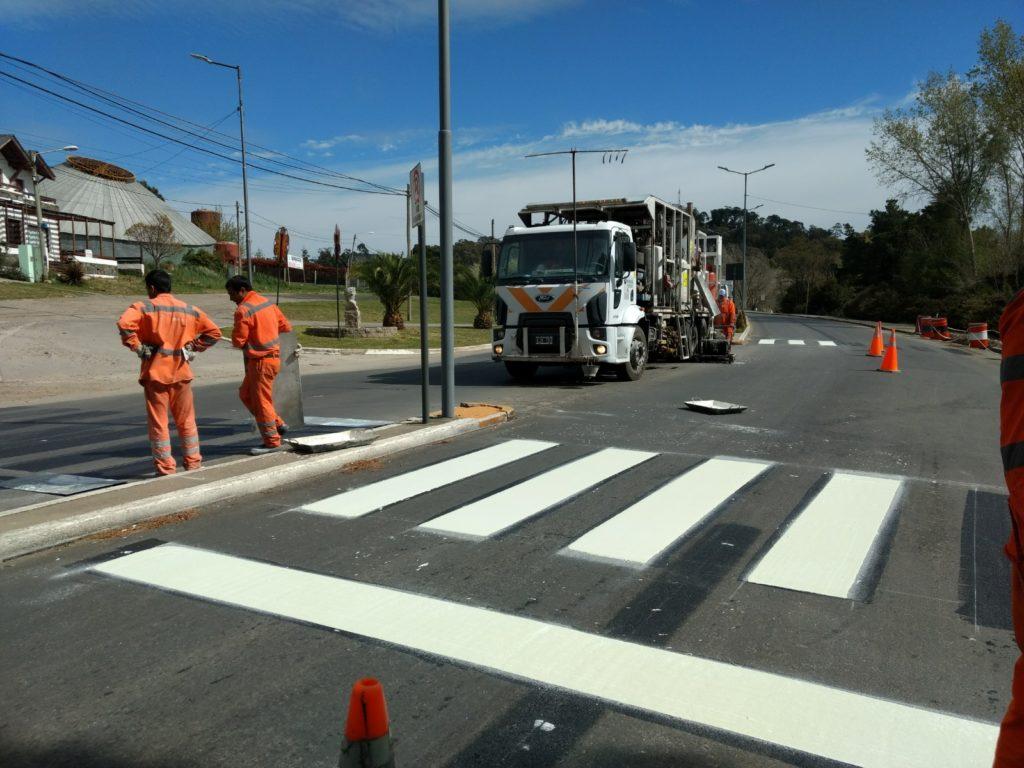 Tandil: El Municipio avanza con la demarcación de la avenida Don Bosco y Obras viales en otras zonas de la ciudad