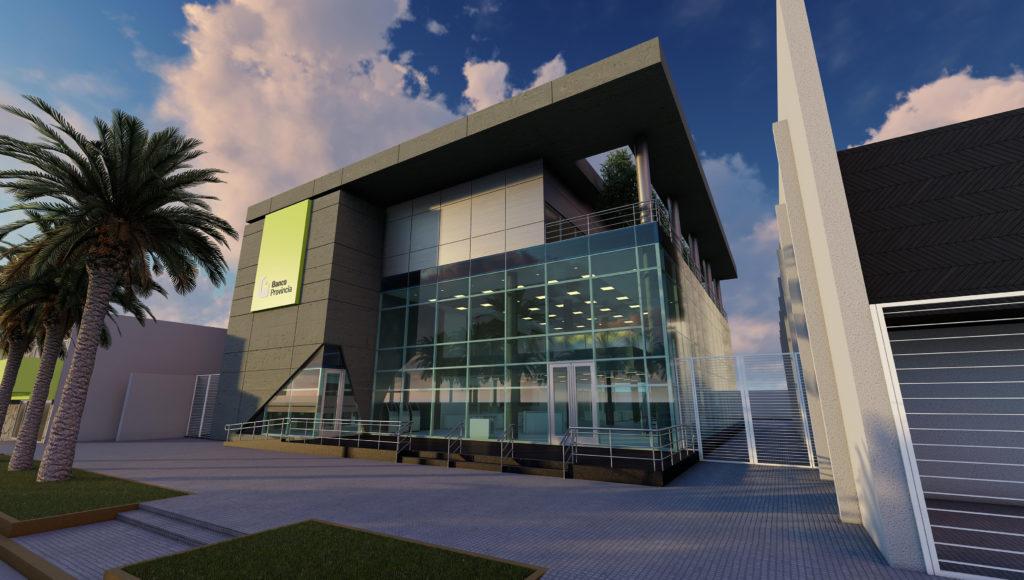 Banco Provincia: Avanza la construcción de la nueva sucursal sustentable en la ciudad