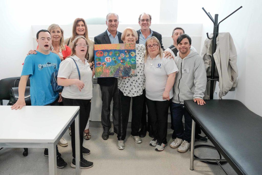 Inauguraron un consultorio para pacientes con Síndrome de Down en el Centro de Salud Nº1
