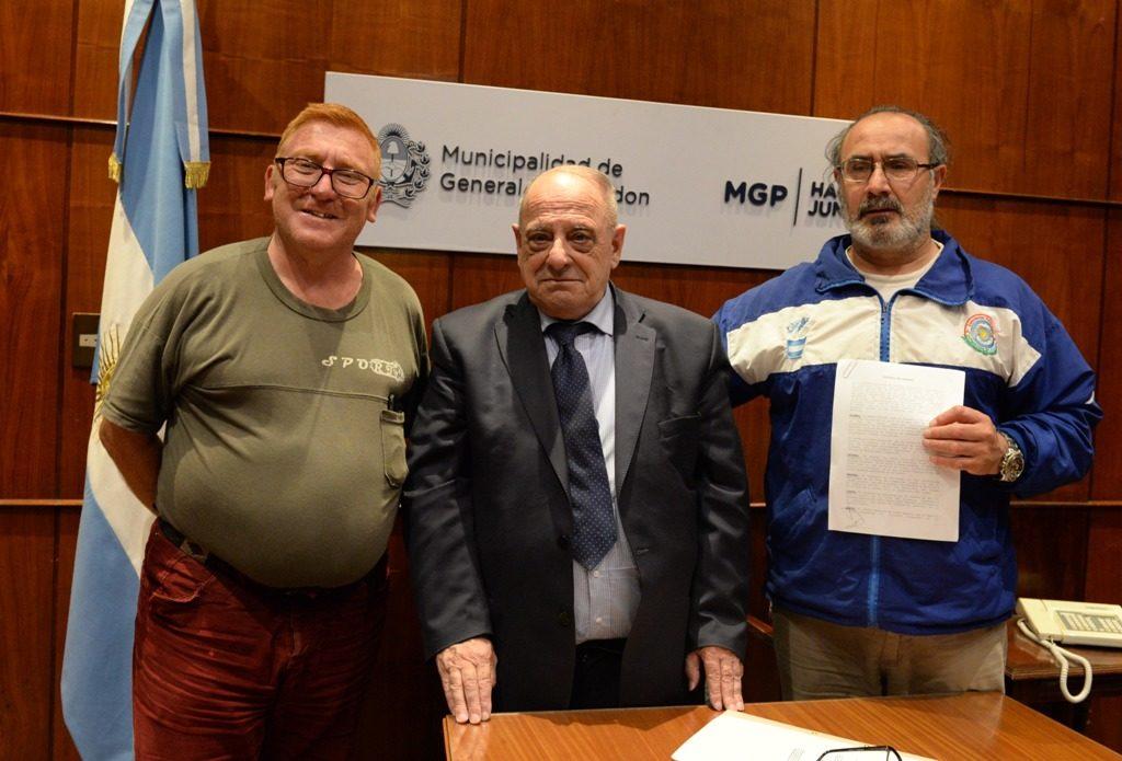 La Municipalidad firmó un convenio con la Asociación de Veteranos Defensores de Malvinas