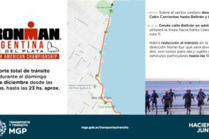 Mañana se corre el Ironman de Mar del Plata