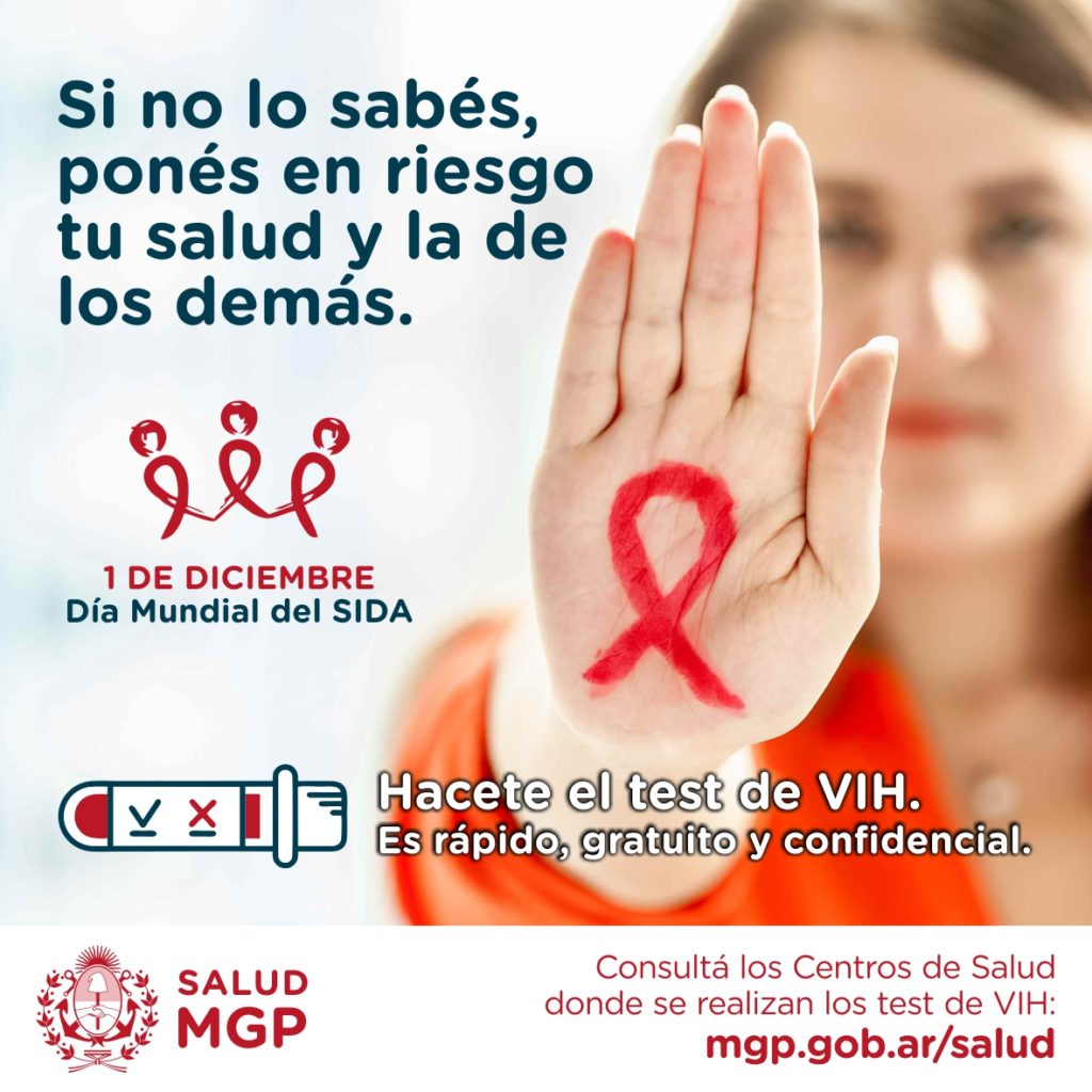 Se realizará una nueva jornada de promoción y prevención del VIH-SIDA