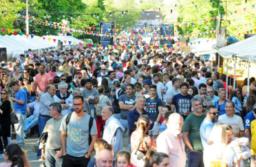 Cientos de personas disfrutaron de la Primera Fiesta del Queso Tandilero