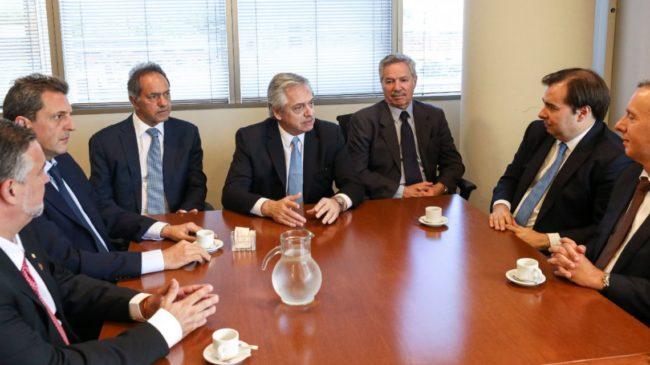 Alberto sumó a Scioli, Duhalde y Moyano: ¡¡¡táchame la doble!!!