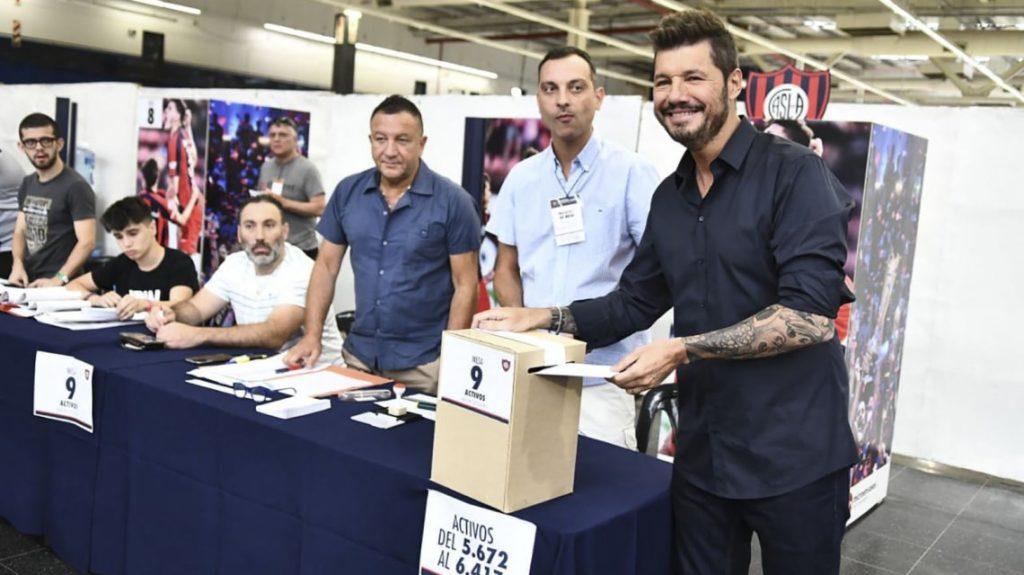 Tinelli arrasó y es el nuevo presidente de San Lorenzo
