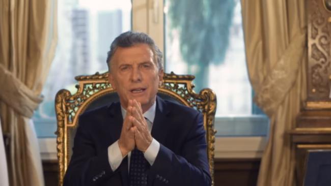 Macri en cadena nacional: «Ordenamos las bases de nuestra economía»