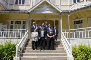 El intendente Guillermo Montenegro tomó juramento de asunción a los integrantes del ejecutivo municipal