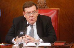 El intendente Guillermo Montenegro realizó el discurso de asunción