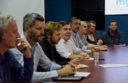 Montenegro encabezó la primera reunión de Gabinete