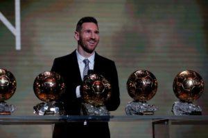 Lionel Messi volvió a ganar el Balón de Oro
