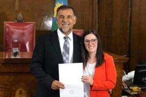 """Oscar """"Huevo"""" Sánchez recibió el reconocimiento como """"Deportista insigne"""""""
