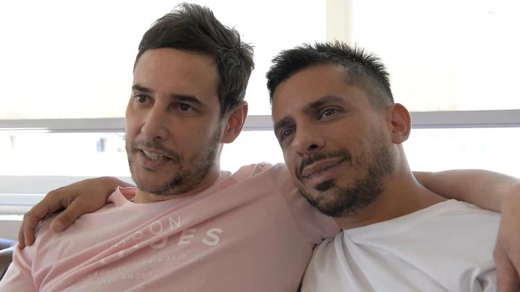 """Rodrigo Lussich y su novio Juan Pablo: """"Está bueno mostrar felicidad, aún hay mucha homofobia"""""""
