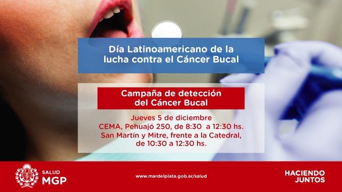 El Municipio realizará una nueva campaña de detección del Cáncer Bucal