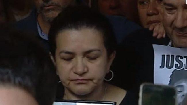El dolor de la madre de Fernando Báez Sosa: «Estoy muerta en vida, que paguen estos criminales»