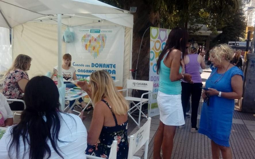 Campaña de verano para fomentar la donación de órganos en Mar del Plata