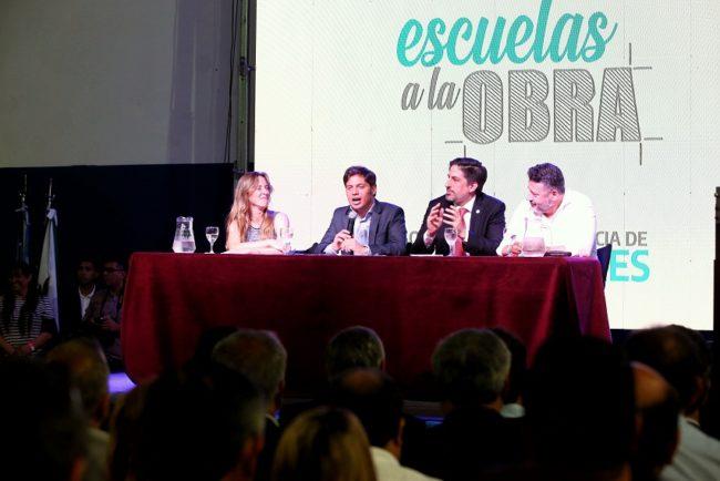 """Kicillof: """"Queremos recuperar el lugar prioritario que debe tener la educación en la provincia de Buenos Aires"""""""