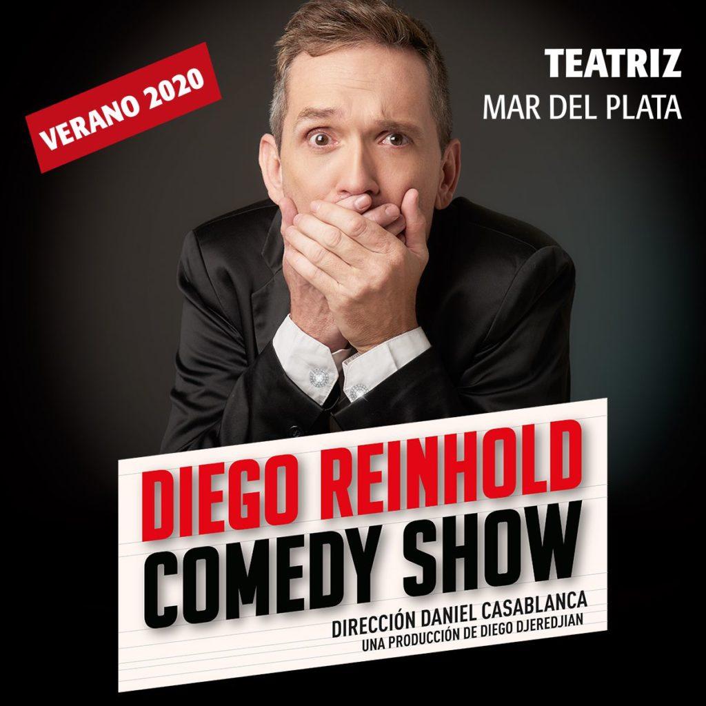 ¡Diego Reinhold llega con su Comedy Show a Mar del Plata!