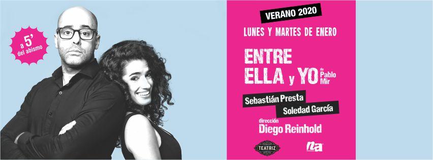 """¡Este lunes llega """"Entre ella y yo"""" a Teatriz!"""