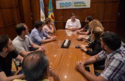 Autoridades de la Coalición Cívica se reunieron con Guillermo Montenegro