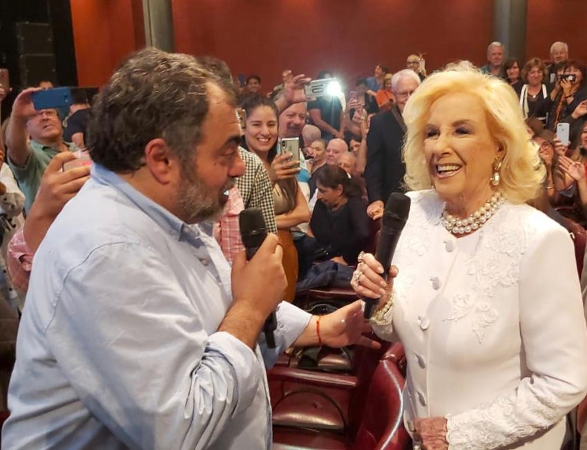 Mirtha Legrand aplaudió de pie  a Moldavsky «RePerfilado»
