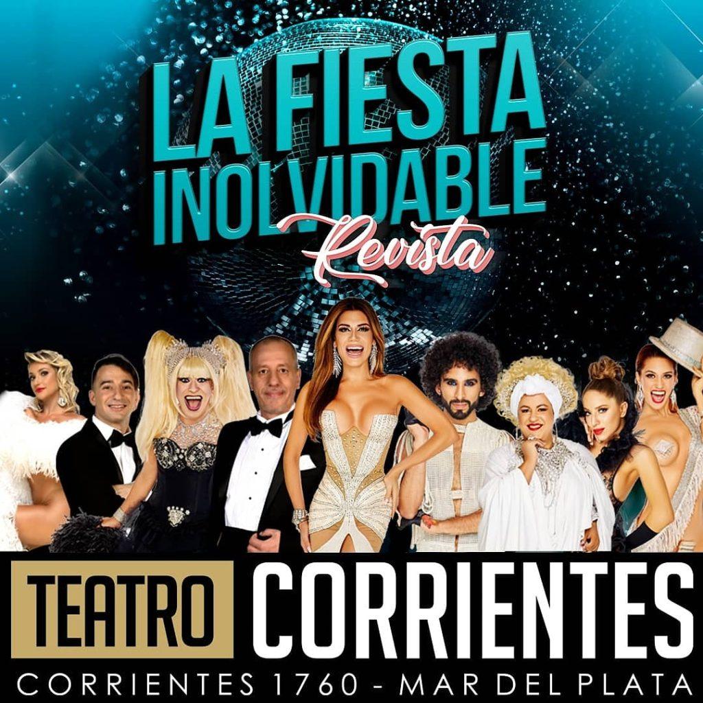 «La Fiesta Inolvidable» a sala llena en el Teatro Corrientes