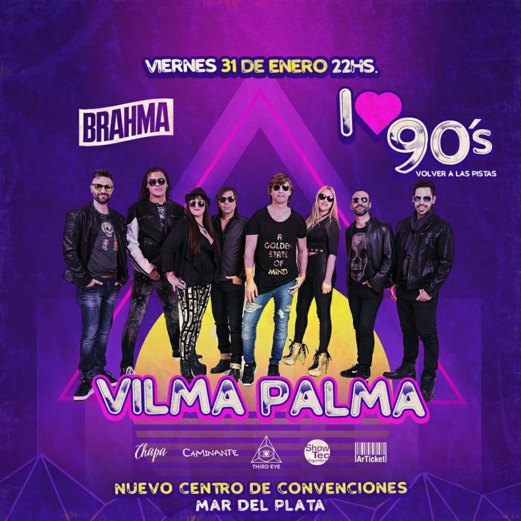 Vilma Palma y El Símbolo juntos en una fiesta imperdible: Viernes 31 de Enero Mar del Plata