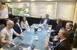 Mauricio Macri reunió a su tropa para comenzar a delinear los próximos pasos como fuerza opositora.  NA